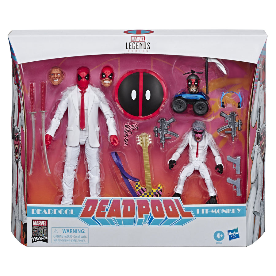 Marvel Legends Series 80th Anniversary Deadpool and Hit-Monkey