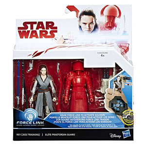 "Star Wars: The Last Jedi 3.75"" Figures 2 Pack - Rey and Praetorian Guard"
