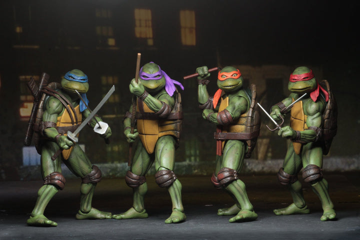 Teenage Mutant Ninja Turtles MOVIE Action Figure Set Of 4
