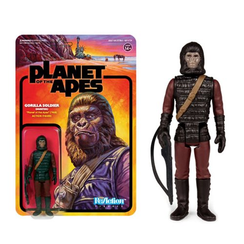 Planet of the Apes Gorilla Soldier Patrolman ReAction Figure