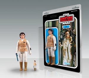 Star Wars Jumbo Vintage Kenner Action Figure Leia (Hoth Outfit)