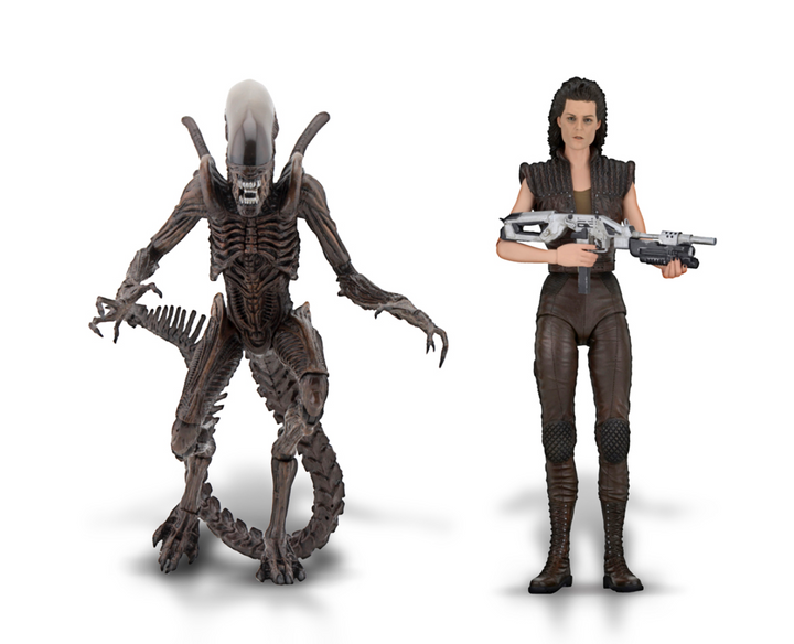 Aliens 7″ Scale Action Figure Series 14 Alien Resurrection Set of 2