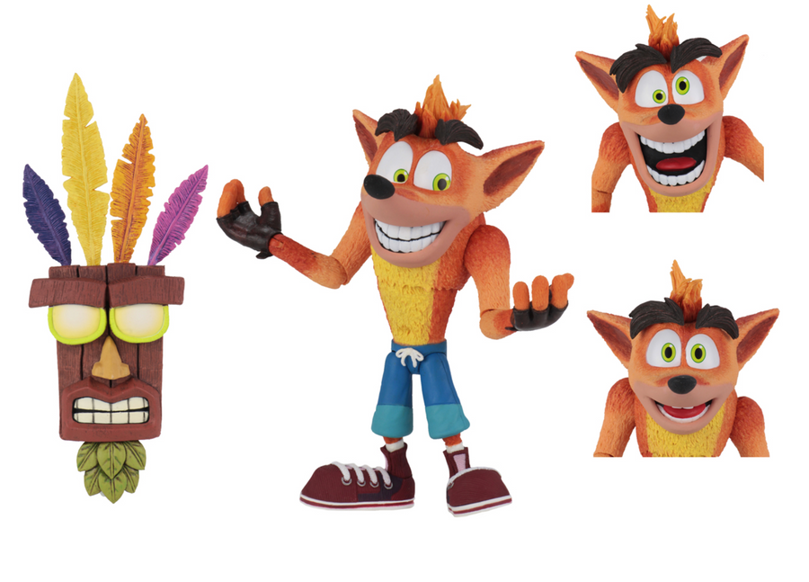 Crash Bandicoot Ultra Deluxe Crash with Aku Aku Mask