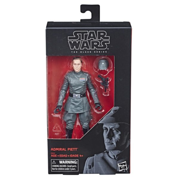 PRE-ORDER Star Wars: The Black Series Star Wars The Black Series Admiral Piett 6 Exclusive