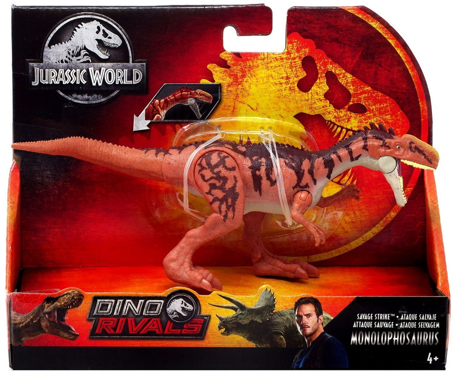 Jurassic World Savage Strike Monolophosaurus