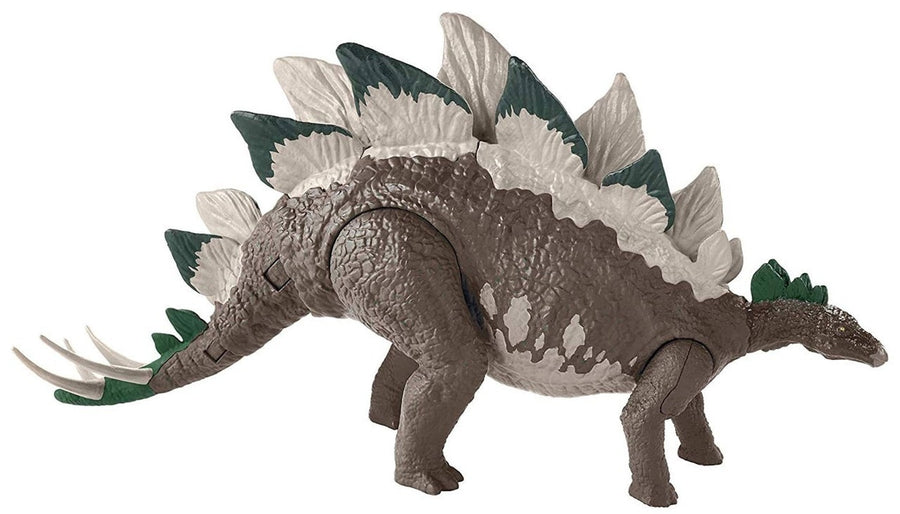 Jurassic World Mega Dual Attack Action Figure Stegosaurus