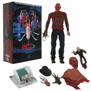 "NIGHTMARE ON ELM STREET ULTIMATE FREDDY DREAM WARRIORS 7"" ACTION FIGURE"