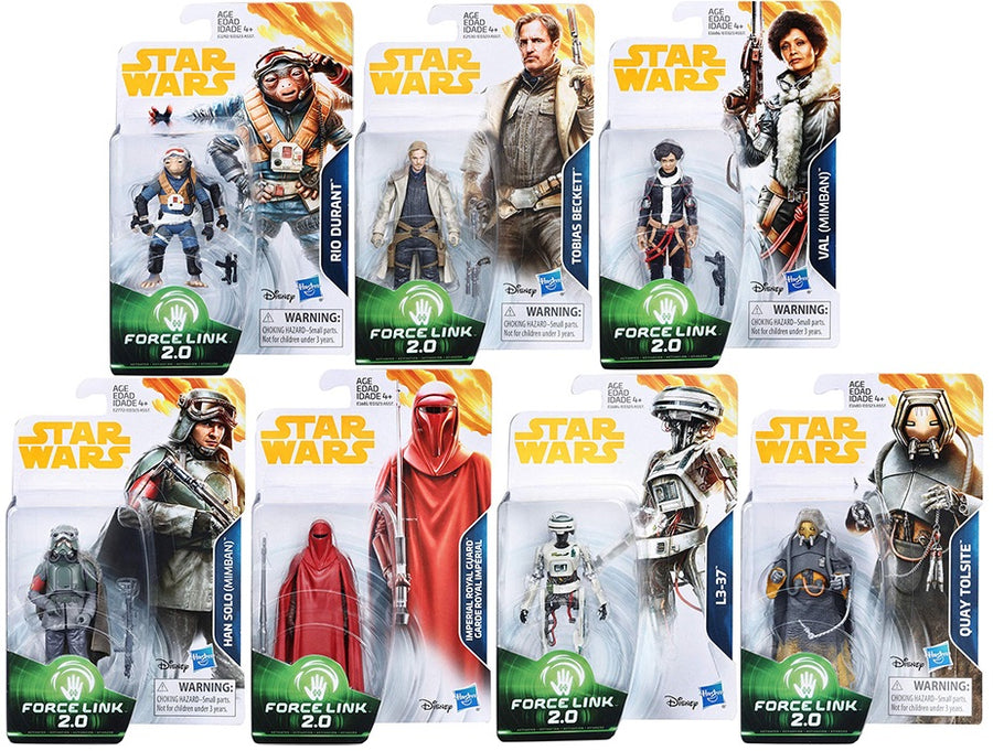 Star Wars Solo 3.75 Wave 4 Set of 7