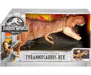 Jurassic World Fallen Kingdom Super Colossal Tyrannosaurus Rex Figure