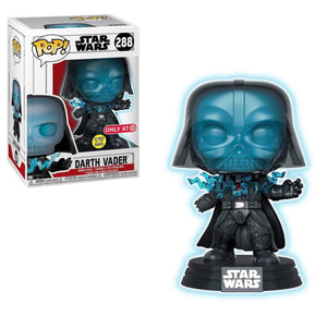 STAR WARS ELECTROCUTED VADER GLOW IN THE DARK POP! VINYL FIGURE (Target Exclusive)