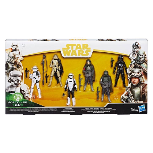 Star Wars Solo Force Link 2.0 Action Figure 6-Pack