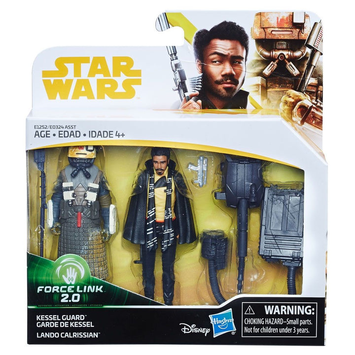 Solo: A Star Wars Story Double Pack Kessel Guard & Lando Calrissian  Force Link 2.0 Wave 1