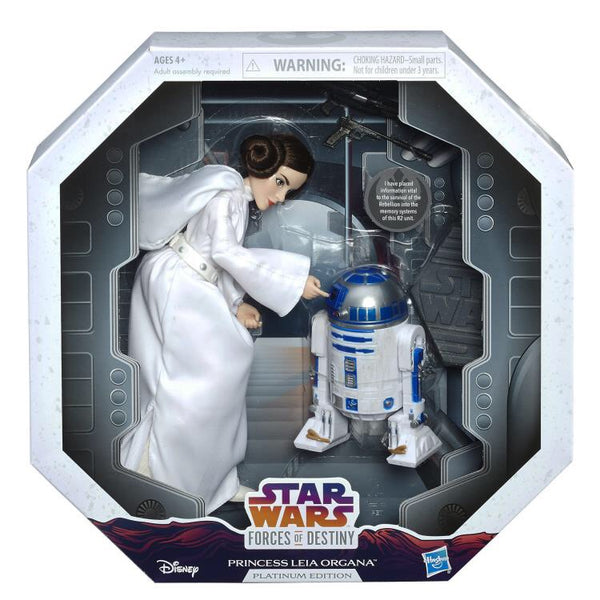 Star Wars Princess Leia Organa Collector Fashion Doll (Forces of Destiny)