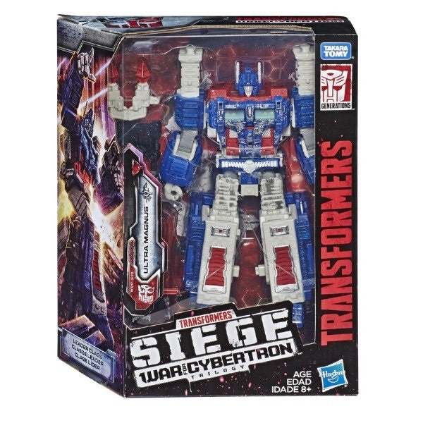TRANSFORMERS SIEGE WAR FOR CYBERTRON LEADER ULTRA MAGNUS