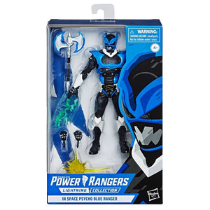 Power Rangers Lightning Collection Exclusive Psycho Blue Ranger