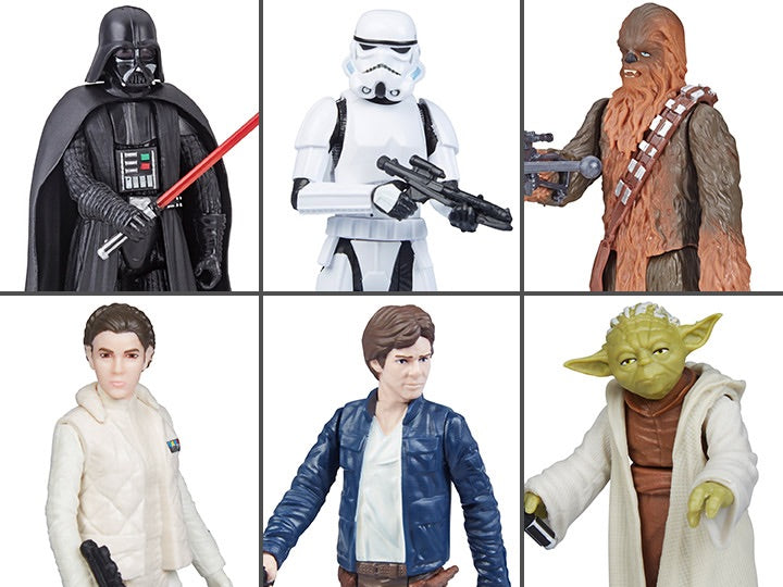 Star Wars Galaxy Of Adventures Wave 2 Set of 6