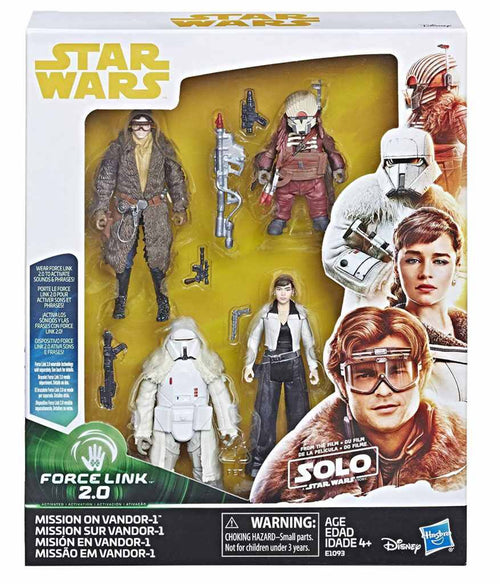 PRE-ORDER Solo: A Star Wars Story Mission On Vandor Figure Box Set 3.75 Force Link 2.0