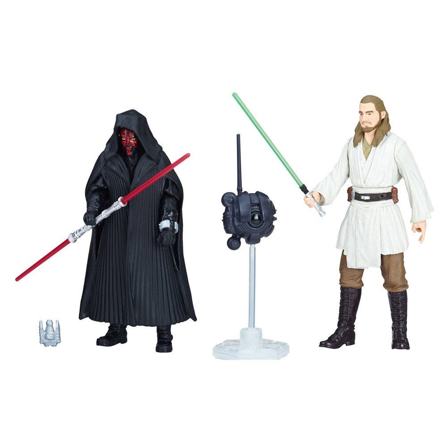 Solo: A Star Wars Story Double Pack Darth Maul & Qui-Gon Jinn Force Link 2.0 Wave 1