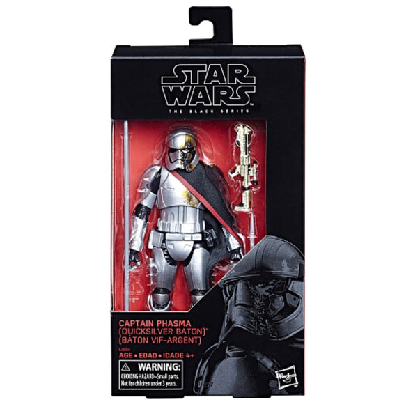 Star Wars The Black Series 6-inch Captain Phasma Toys R Us Exclusive Figure