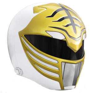 Power Rangers Lightning Collection Mighty Morphin Power Rangers White Helmet