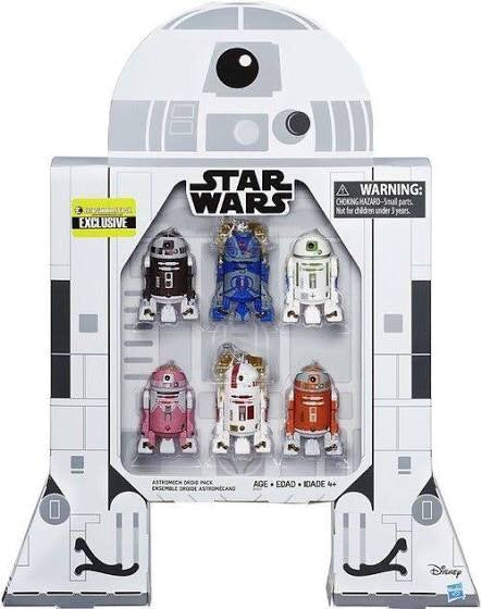 STAR WARS ASTROMECH DROID 6-PACK EE EXCLUSIVE SET