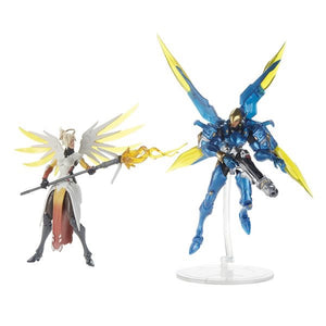 Overwatch Ultimates Action Figure Mercy & Pharah Duo Pack