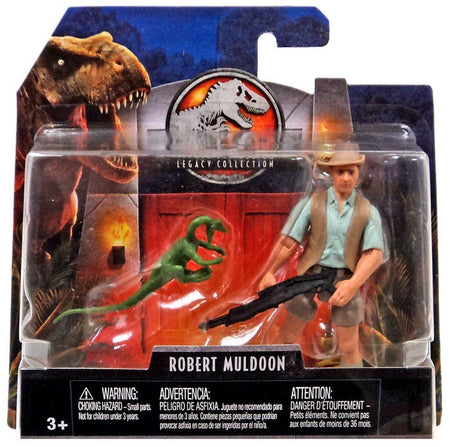 Jurassic World Fallen Kingdom Attack Pack Velociraptor Blue