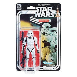 Star Wars 40th Anniversary Black Series 6 Inch Action Figure Storm Trooper