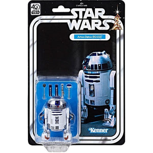 Star Wars 40th Anniversary Black Series 6 Inch Action Figure R2-D2