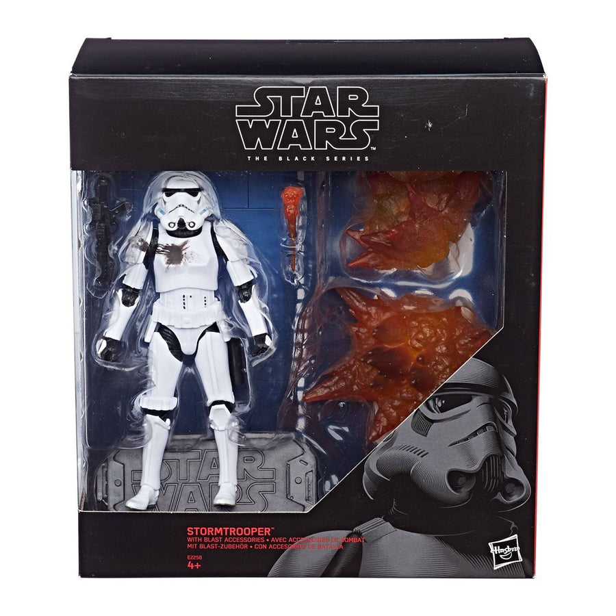 Star Wars: The Black Series Stormtrooper with Blast Accessories Exclusive
