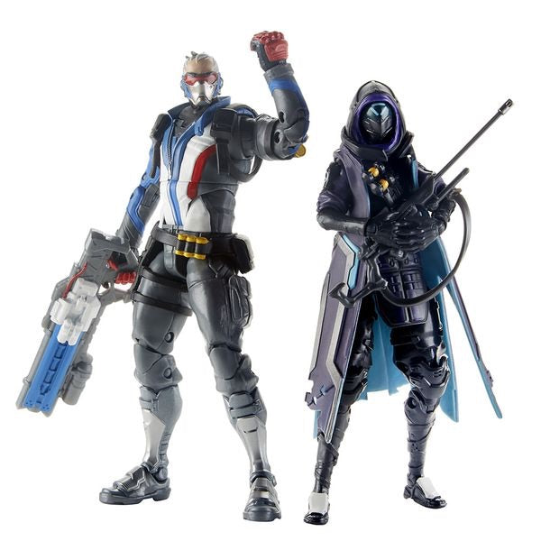 Overwatch Ultimates Action Figure Shrike Ana & Soldier Duo Pack