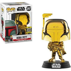 Star Wars Galactic Convention Exclusive Gold Boba Fett