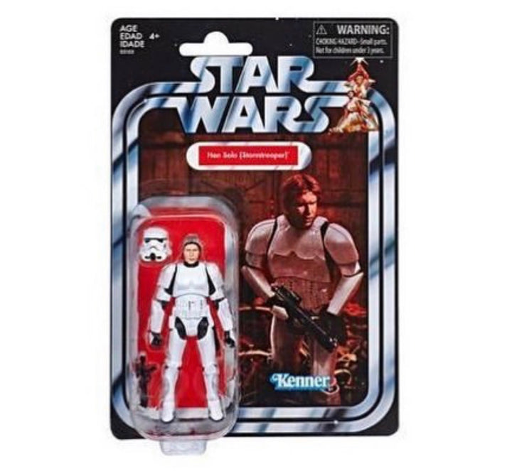 Star Wars The Vintage Collection Action Figure Exclusive - Han Solo Stormtrooper Disguise
