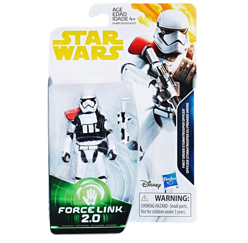 PRE-ORDER Solo: A Star Wars Story First Order Stormtrooper Officer Figure 3.75 Force Link 2.0 Wave 3