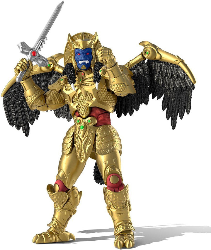 Power Rangers Mighty Morphin Lightning Collection Goldar Exclusive Action Figure