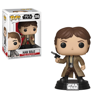 STAR WARS ENDOR HAN POP! VINYL FIGURE