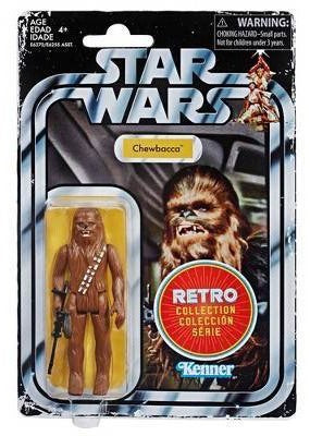 Star Wars Retro Collection Episode IV: A New Hope Chewbacca