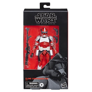 "Star Wars The Black Series 6"" Clone Commander Fox (The Clone Wars) Exclusive"