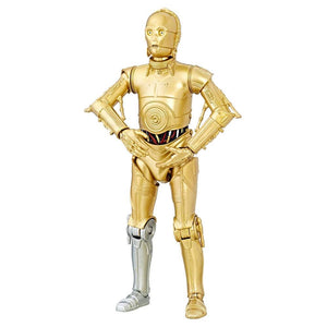 Star Wars 40th Anniversary Black Series 6 Inch Action Figure C-3PO