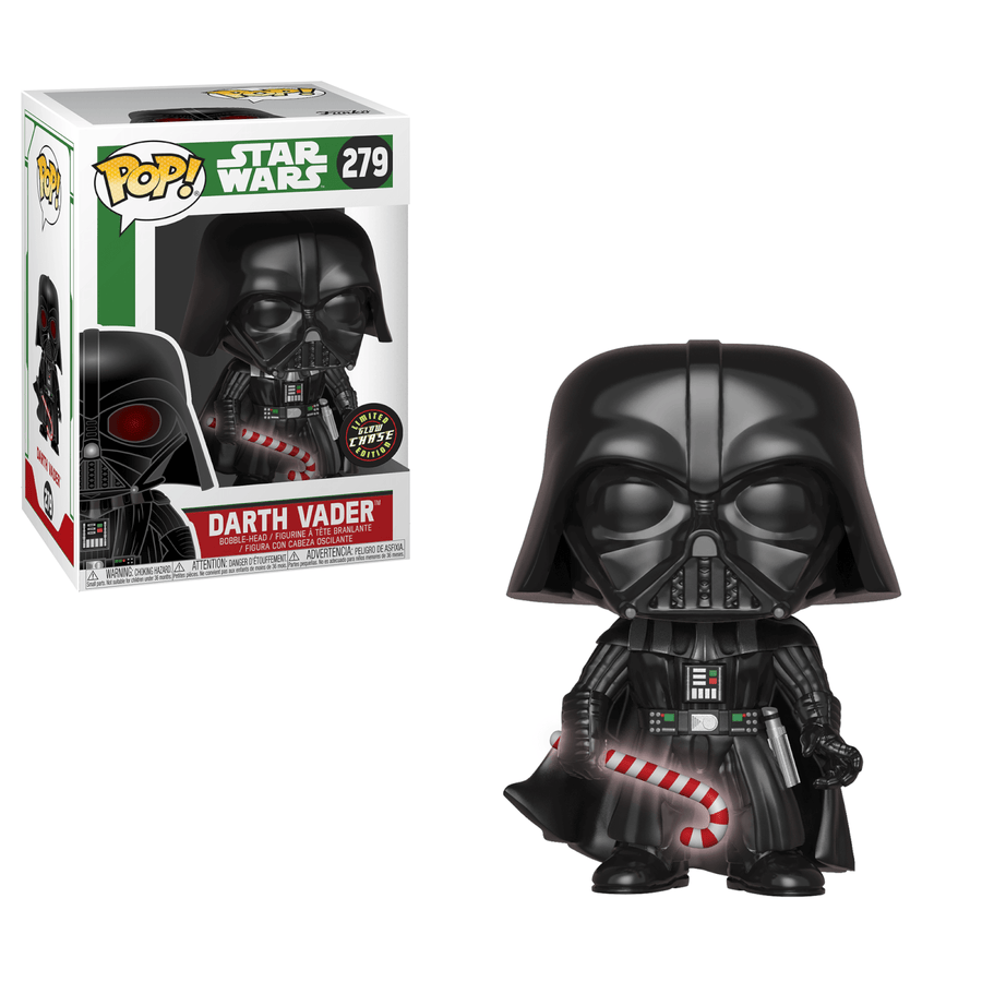 Star Wars POP! Vinyl Bobble-Head Figures Holiday Darth Vader
