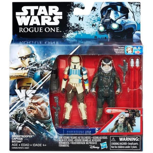 Star Wars: Rogue One: Deluxe Action Figure 2-Pack: Shoretrooper & Bistan
