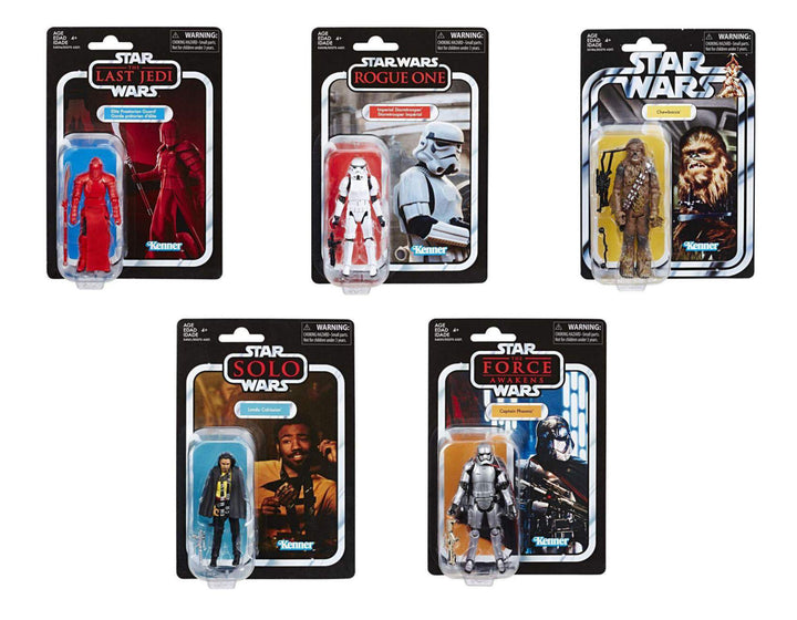 The Vintage Collection Wave 6 Set of 5