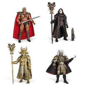 Masters of the Universe Collector's Choice William Stout Collection Action Figure He-Man Set of 4