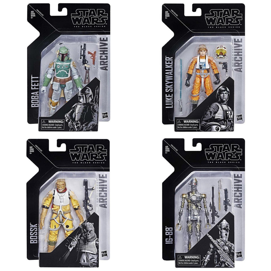 Star Wars The Black Series Archive Collection Wave 1 Set of 4