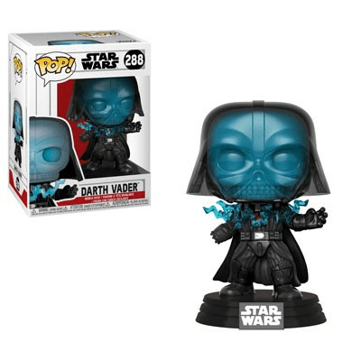 STAR WARS ELECTROCUTED VADER POP! VINYL FIGURE