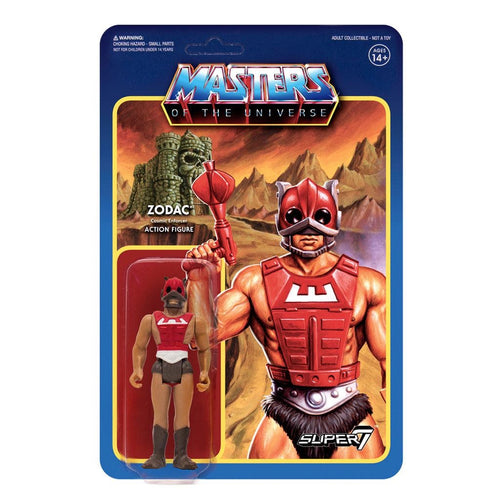 Masters of the Universe ReAction Action Figures 10 cm Wave 3 Zodac