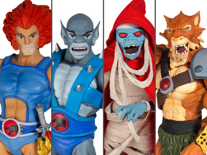 Thundercats Ultimate Wave 1 Set of 4 Figures