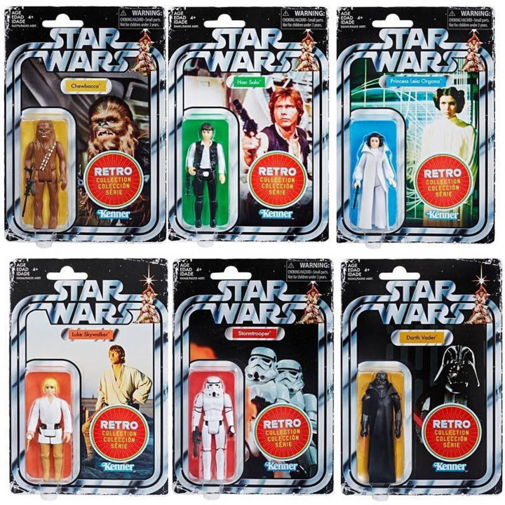 Star Wars Retro Collection Set of 6