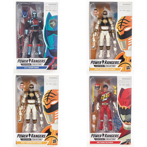 Power Rangers Lightning Collection Mighty Morphin Set Of 4