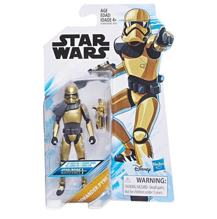 Star Wars Resistance 3.75 Commander Pyre